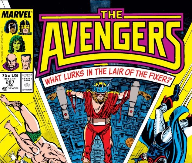Avengers (1963) #287 Cover