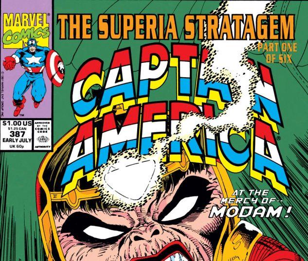 Captain America (1968) #387 Cover