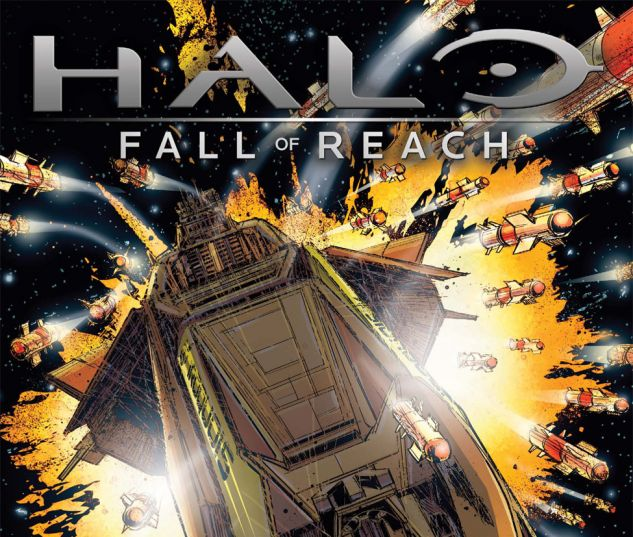 HALO: FALL OF REACH - COVENANT (2010) #4 Cover