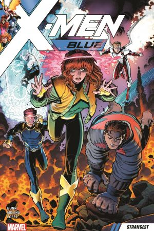X-Men Blue Vol. 1: Strangest (Trade Paperback)