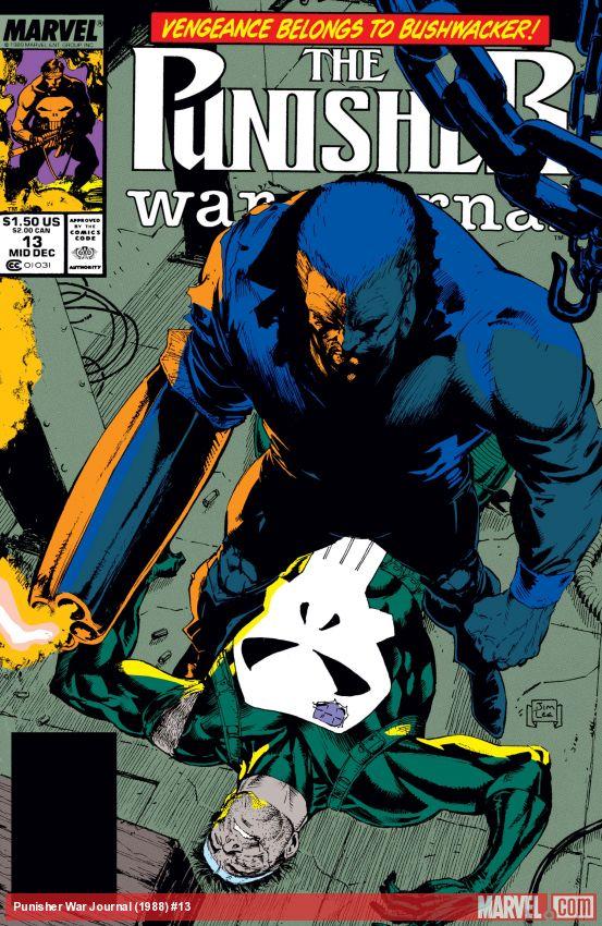 Punisher War Journal (1988) #13