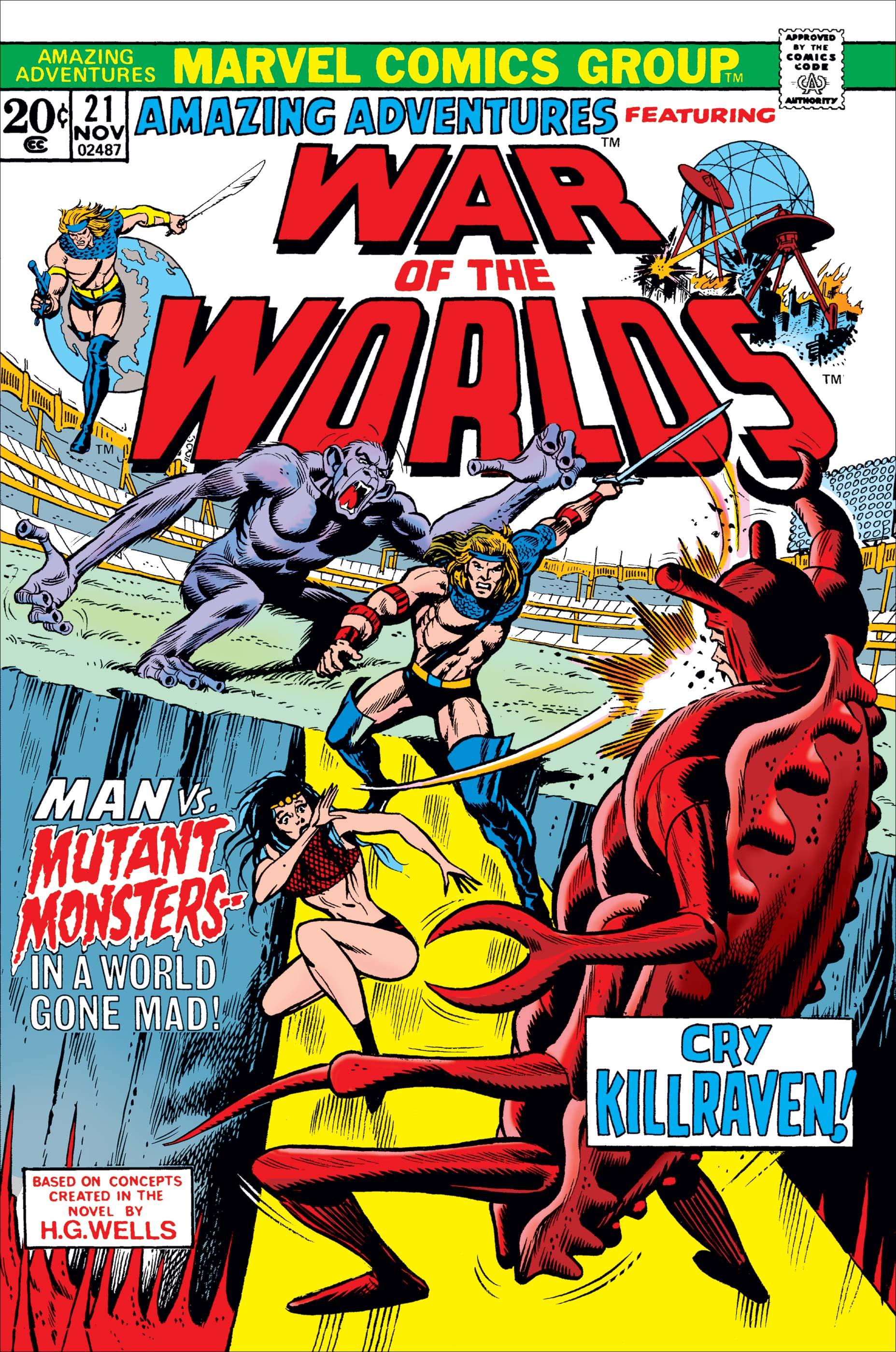 Amazing Adventures (1970) #21