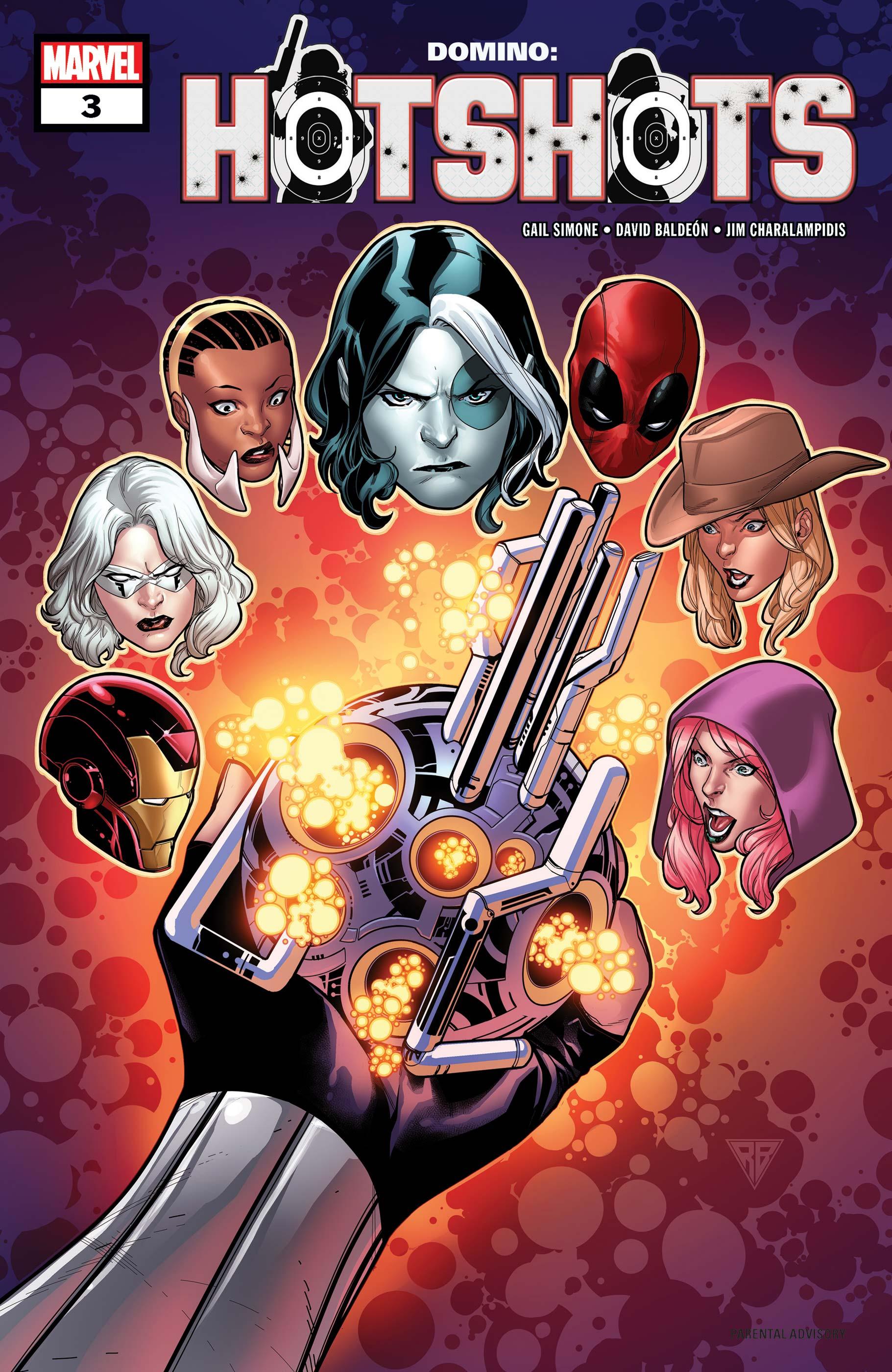 Domino: Hotshots (2019) #3