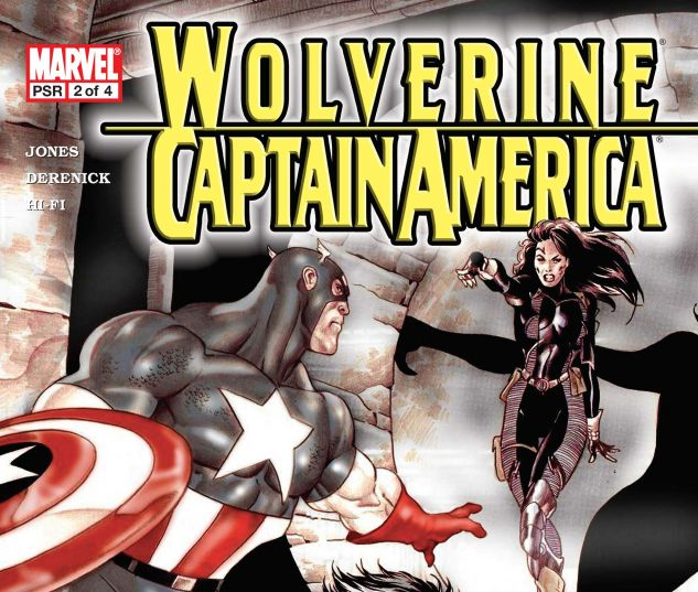 WOLVERINE/CAPTAIN AMERICA (2004) #2
