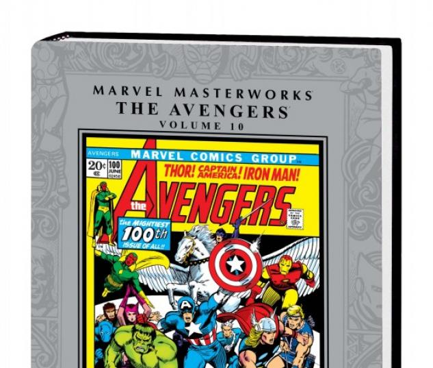 Marvel Masterworks: The Avengers Vol. 10 (Hardcover)