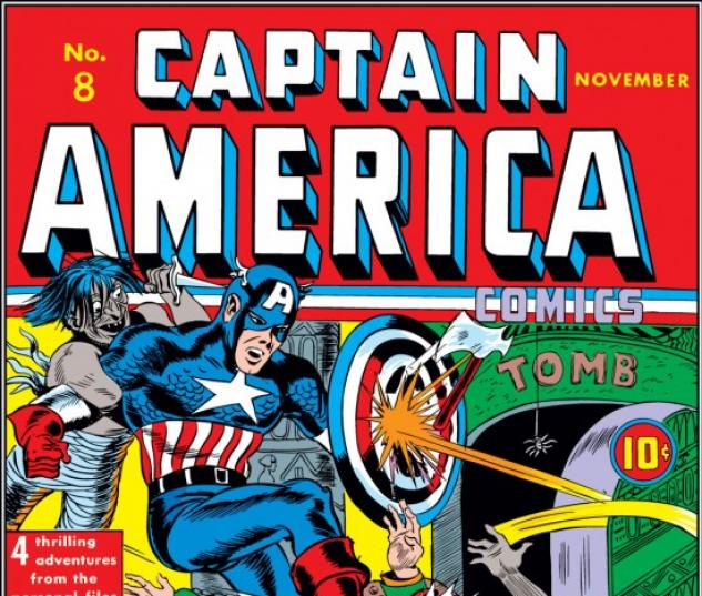 CAPTAIN AMERICA COMICS #8 COVER