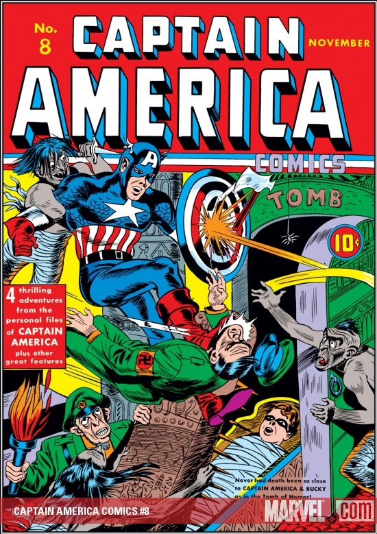 Captain America Comics (1941) #8