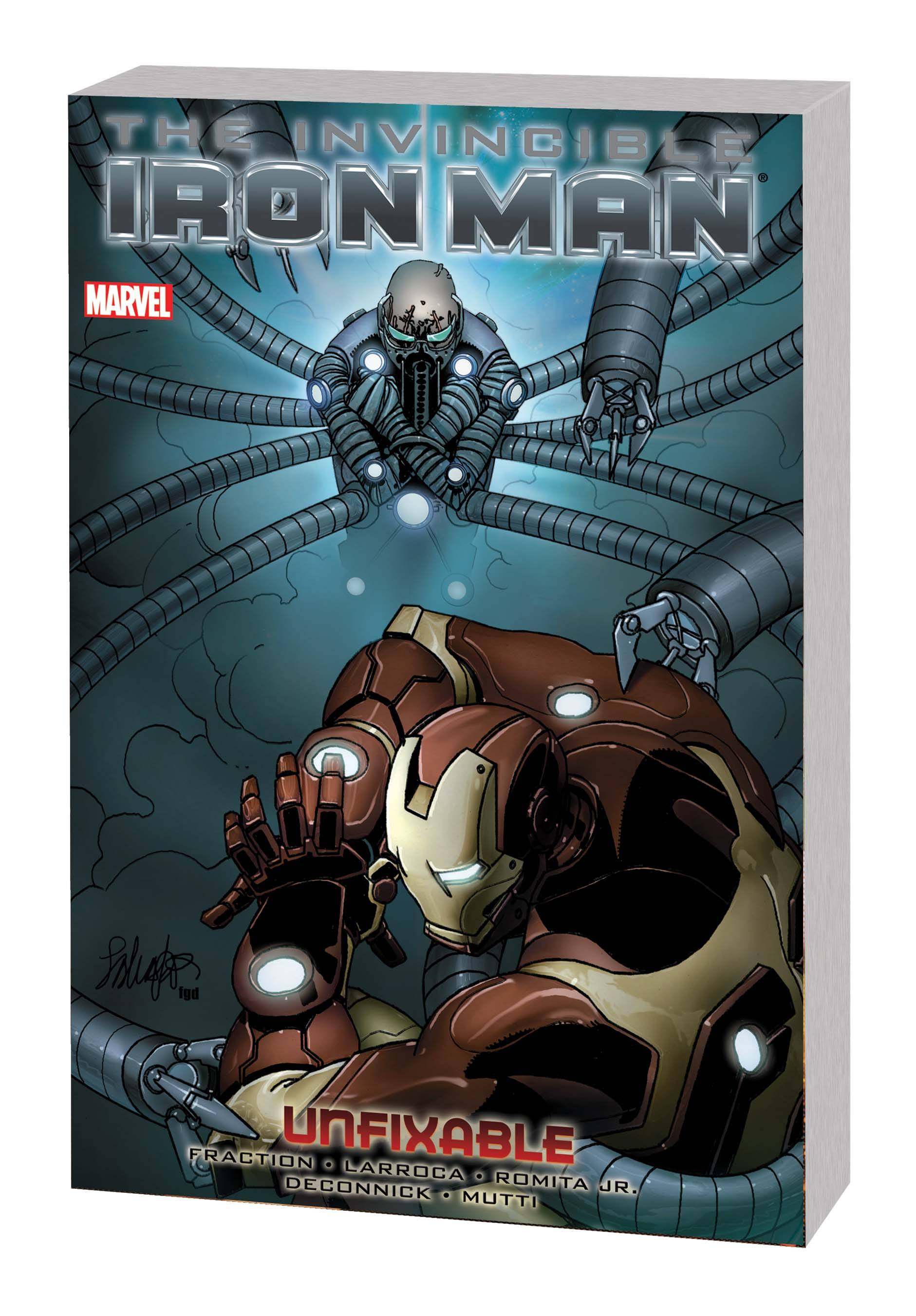INVINCIBLE IRON MAN VOL. 8: UNFIXABLE TPB (Trade Paperback)