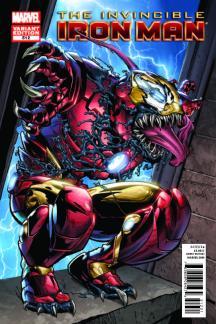 Invincible Iron Man (2008) #512 (Venom Variant)