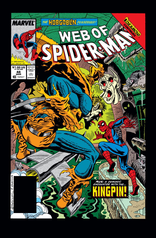Web of Spider-Man (1985) #48