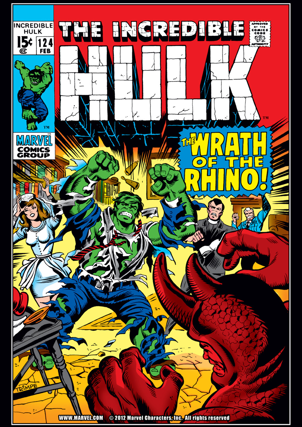 Incredible Hulk (1962) #124