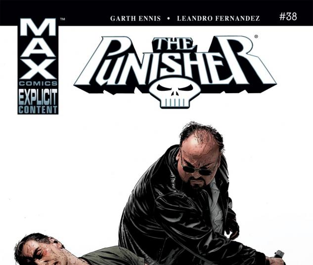 Punisher (2004) #38 Cover