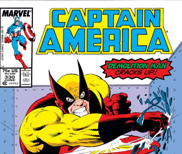 Captain America (1968) #330 Cover