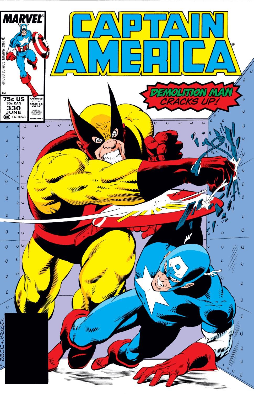 Captain America (1968) #330