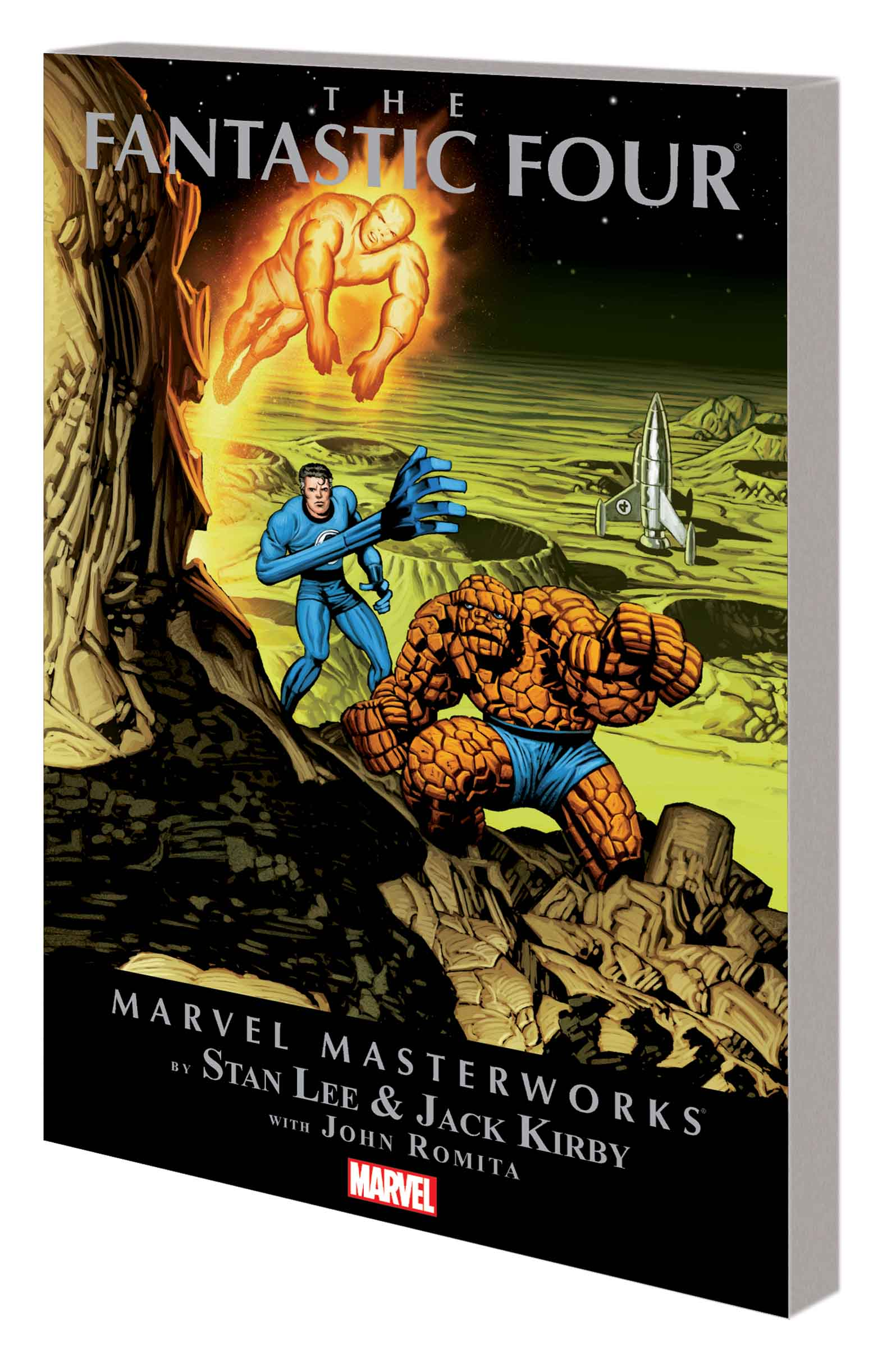 Marvel Masterworks: The Fantastic Four (Trade Paperback)