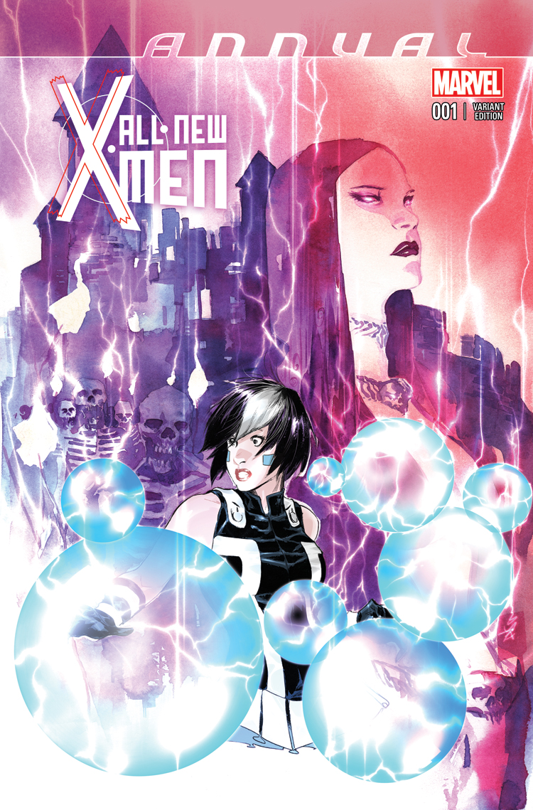 All New X Men Annual 2014 1 Nguyen Variant Comic Issues Marvel