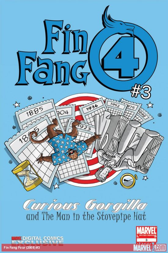 Fin Fang Four Digital Comic (2008) #3