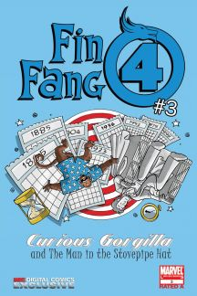 Fin Fang Four Digital Comic #3