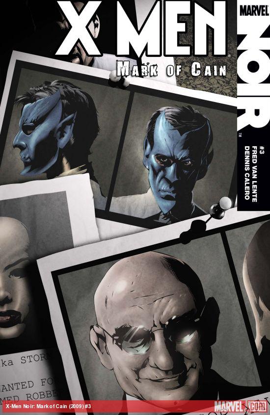 X-Men Noir: Mark of Cain (2009) #3