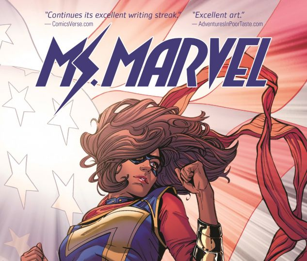 cover from Ms. Marvel (2017)