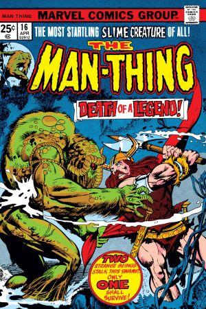 Man-Thing (1974) #16