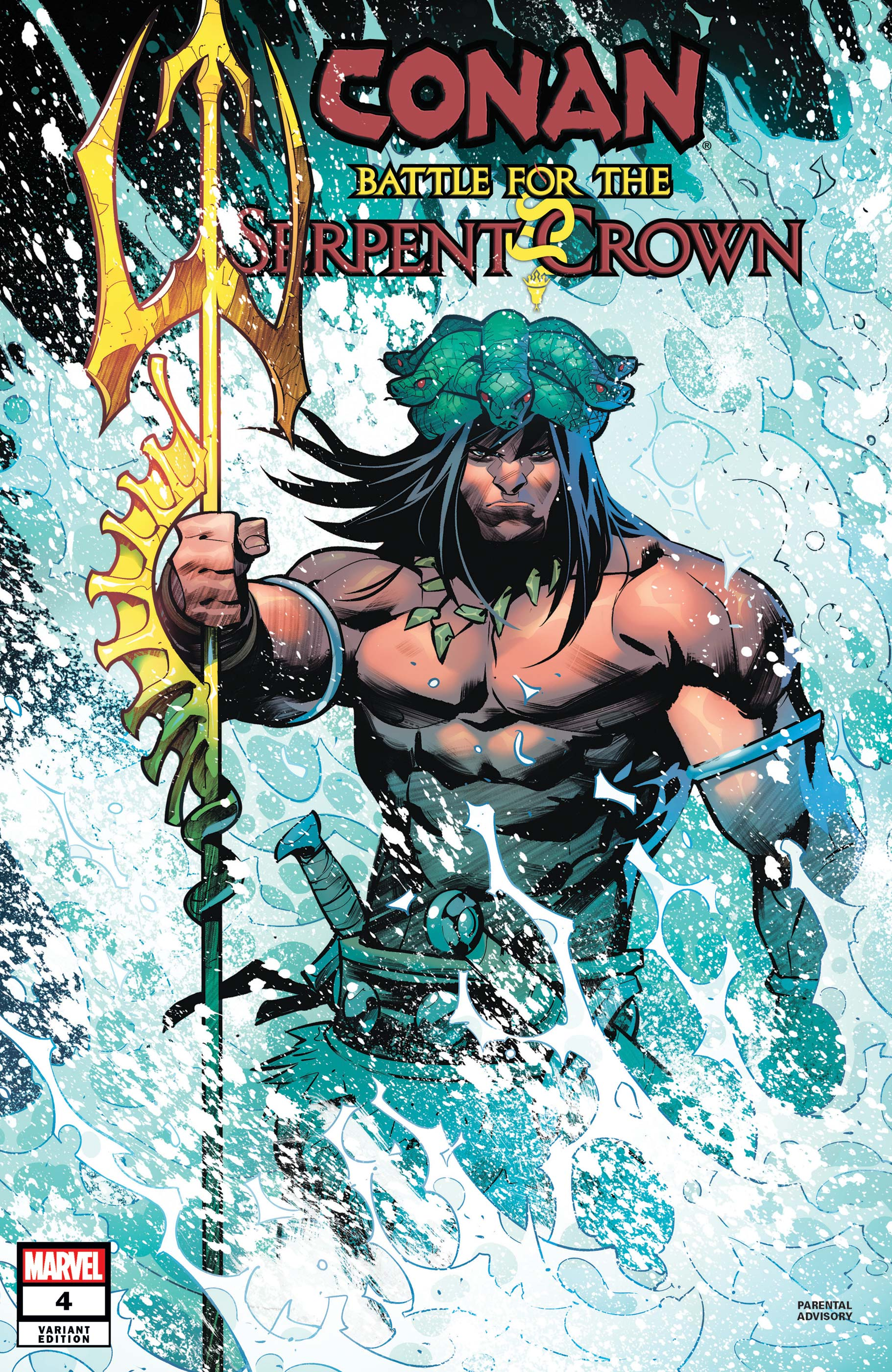 Conan: Battle for the Serpent Crown (2020) #4 (Variant)