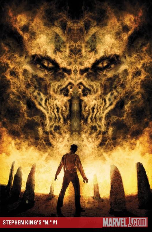"""Stephen King's """"N."""" (2010) #1"""