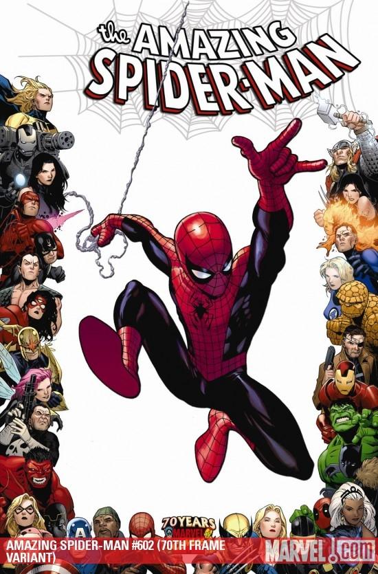 Amazing Spider-Man (1999) #602 (70TH FRAME VARIANT)