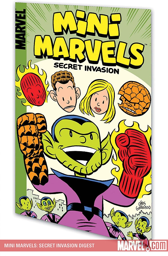 Mini Marvels: Secret Invasion Digest (Digest)