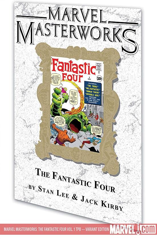 MARVEL MASTERWORKS: THE FANTASTIC FOUR VOL. 1 TPB VARIANT [DM ONLY] (Trade Paperback)