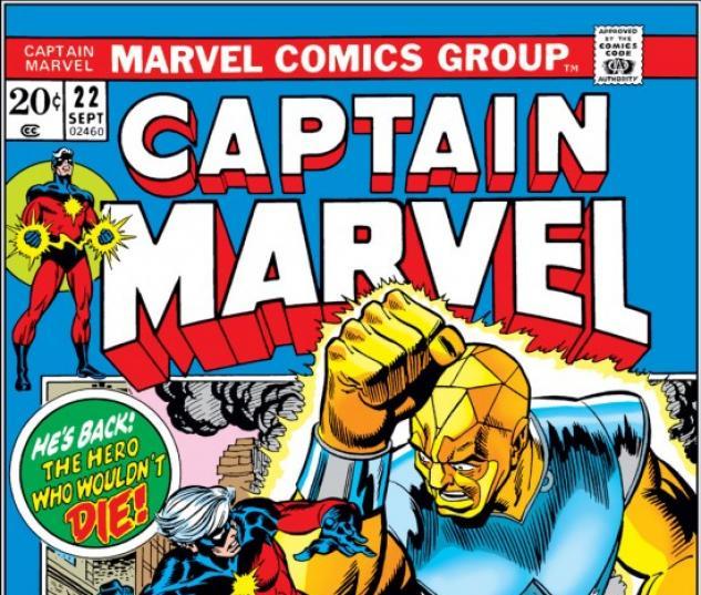CAPTAIN MARVEL #22 COVER