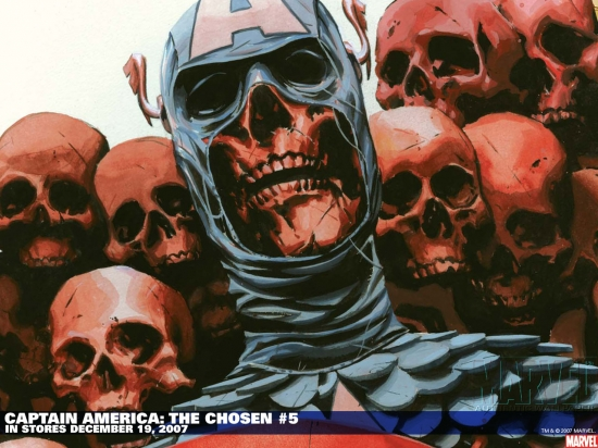Captain America: The Chosen (2007) #5 Wallpaper