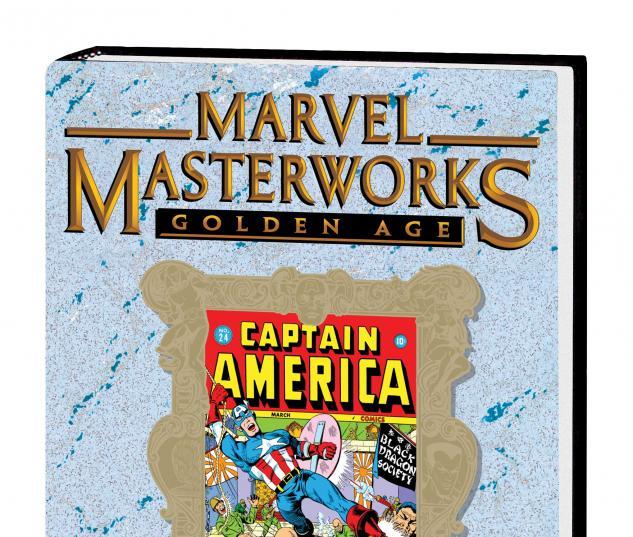 MARVEL MASTERWORKS: GOLDEN AGE CAPTAIN AMERICA VOL. 6 HC VARIANT