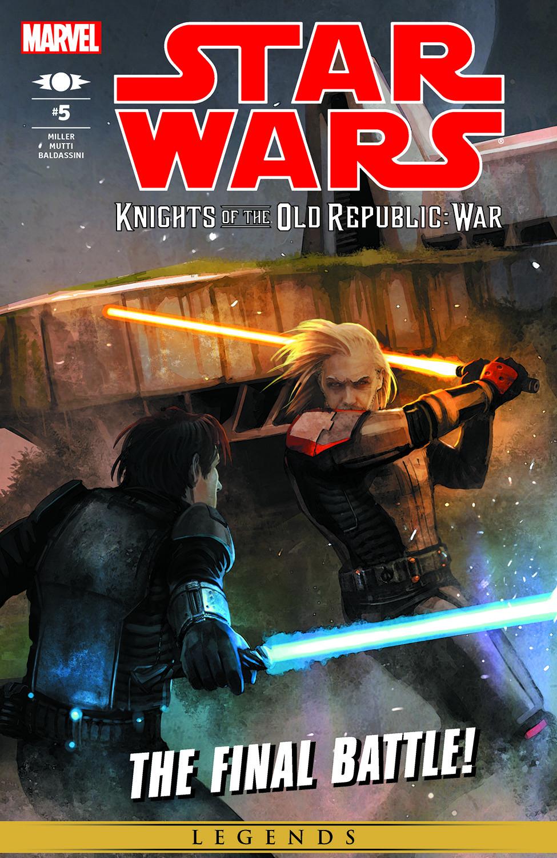 Star Wars: Knights Of The Old Republic - War (2012) #5