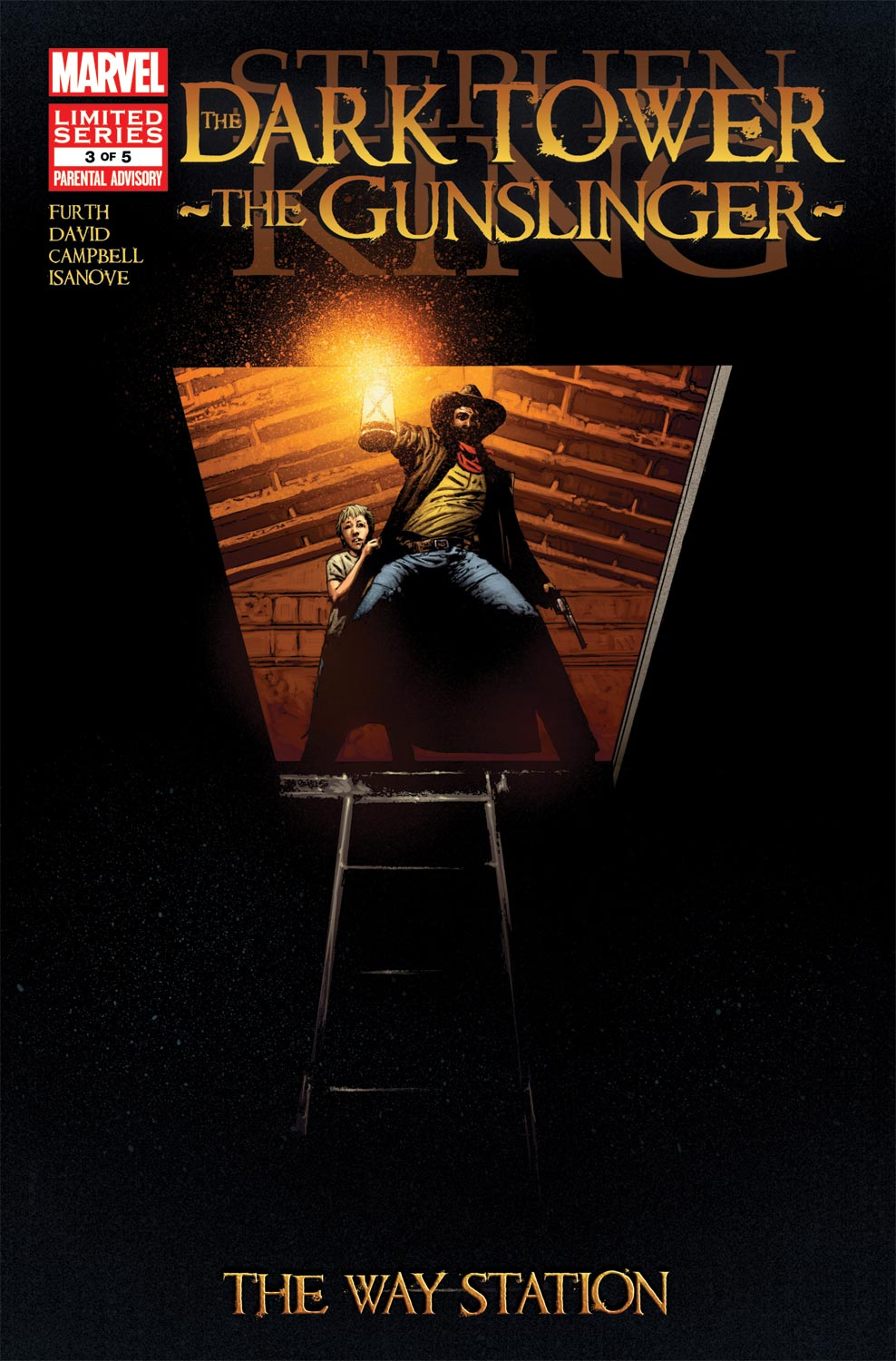 Dark Tower: The Gunslinger - The Way Station (2011) #3