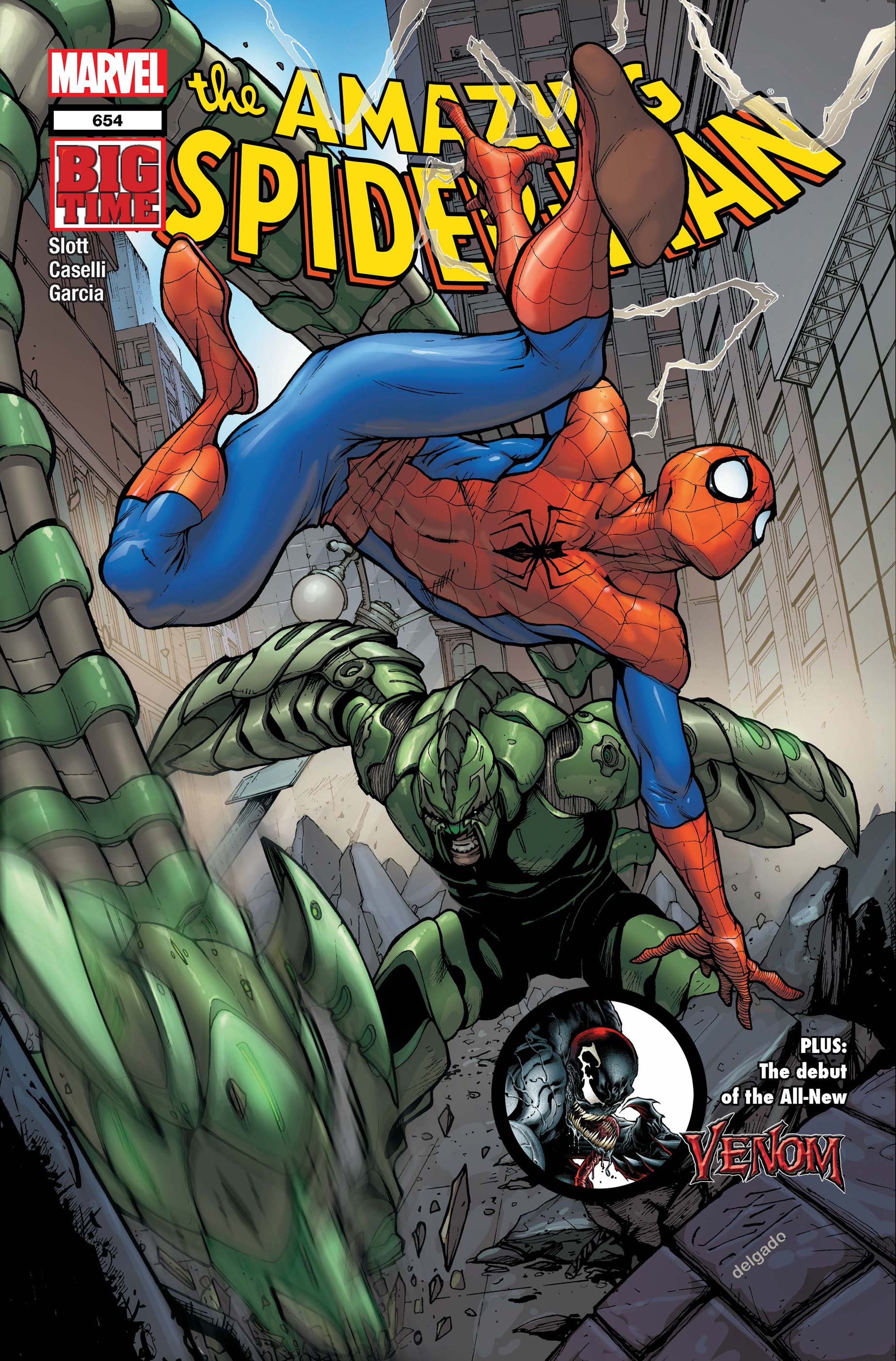 Amazing Spider-Man (1999) #654