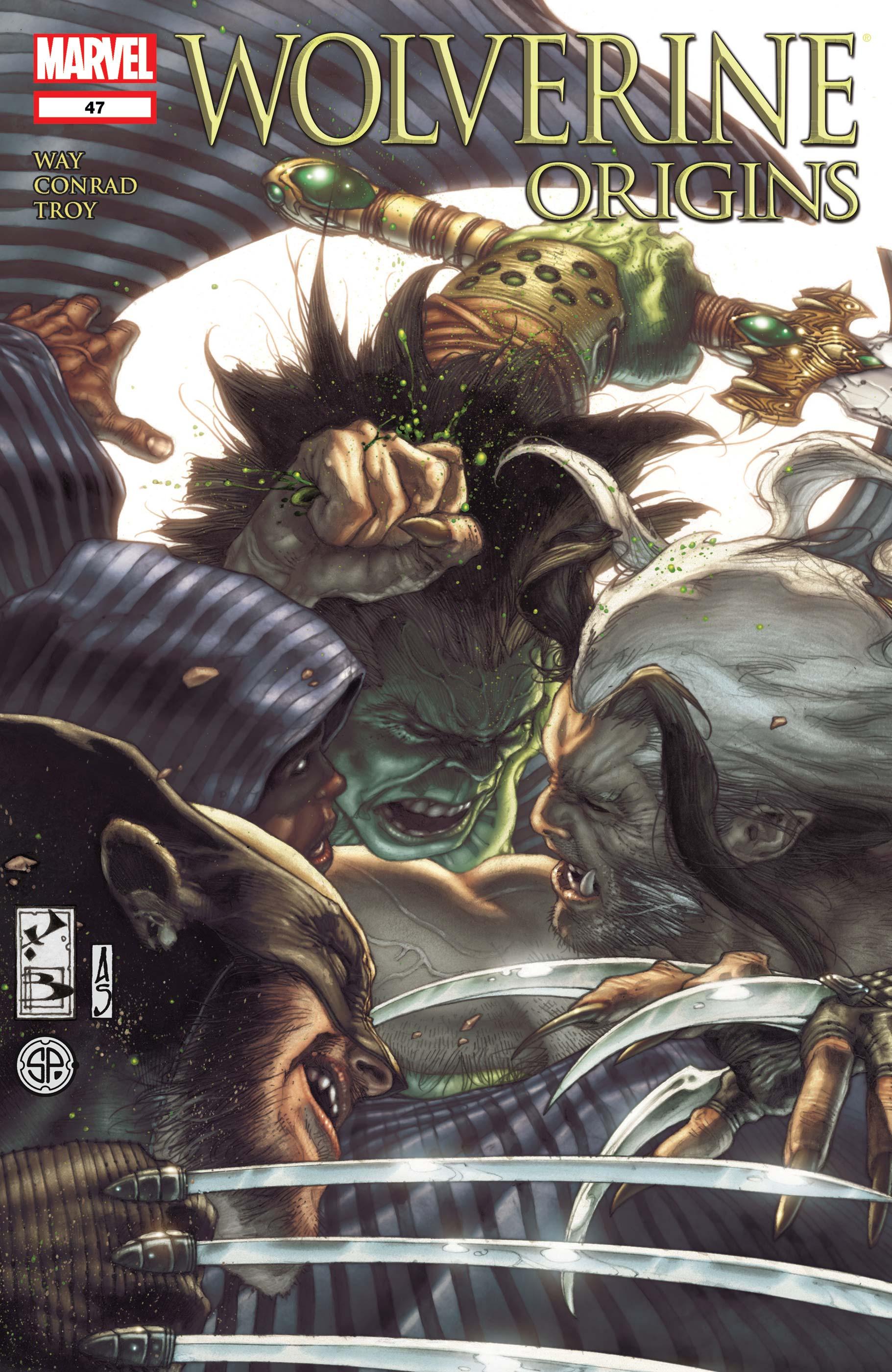 Wolverine Origins (2006) #47