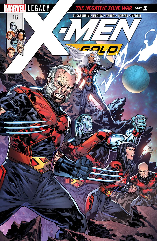 X-Men: Gold (2017) #16