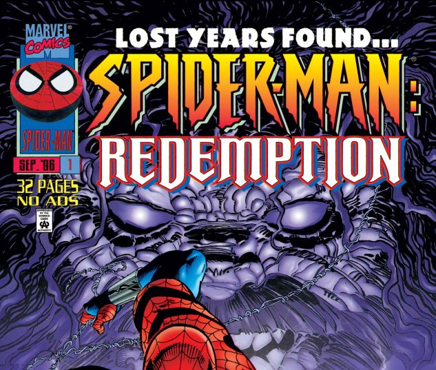 Cover for SPIDER-MAN: REDEMPTION 1