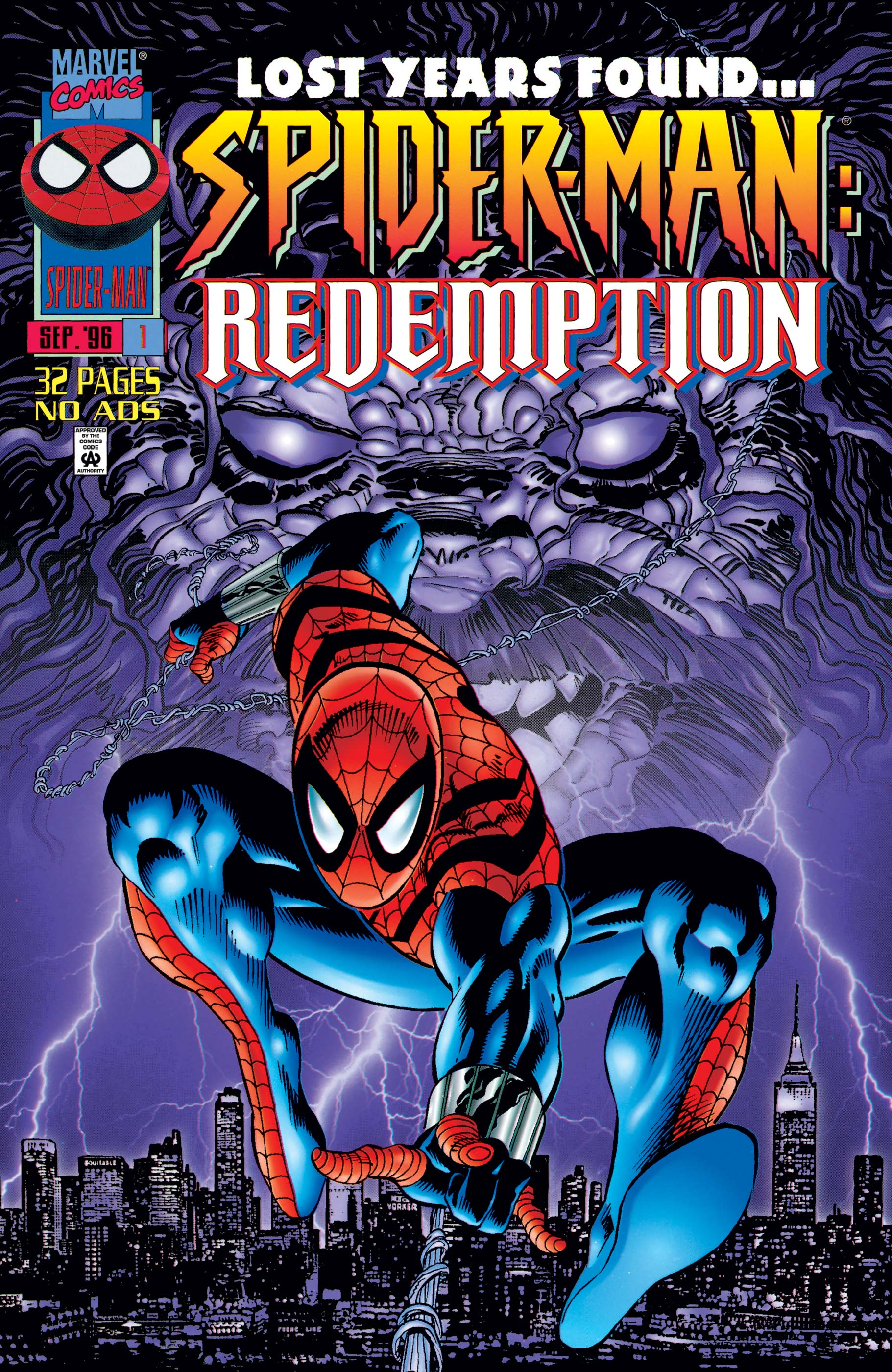 Spider-Man: Redemption (1996) #1