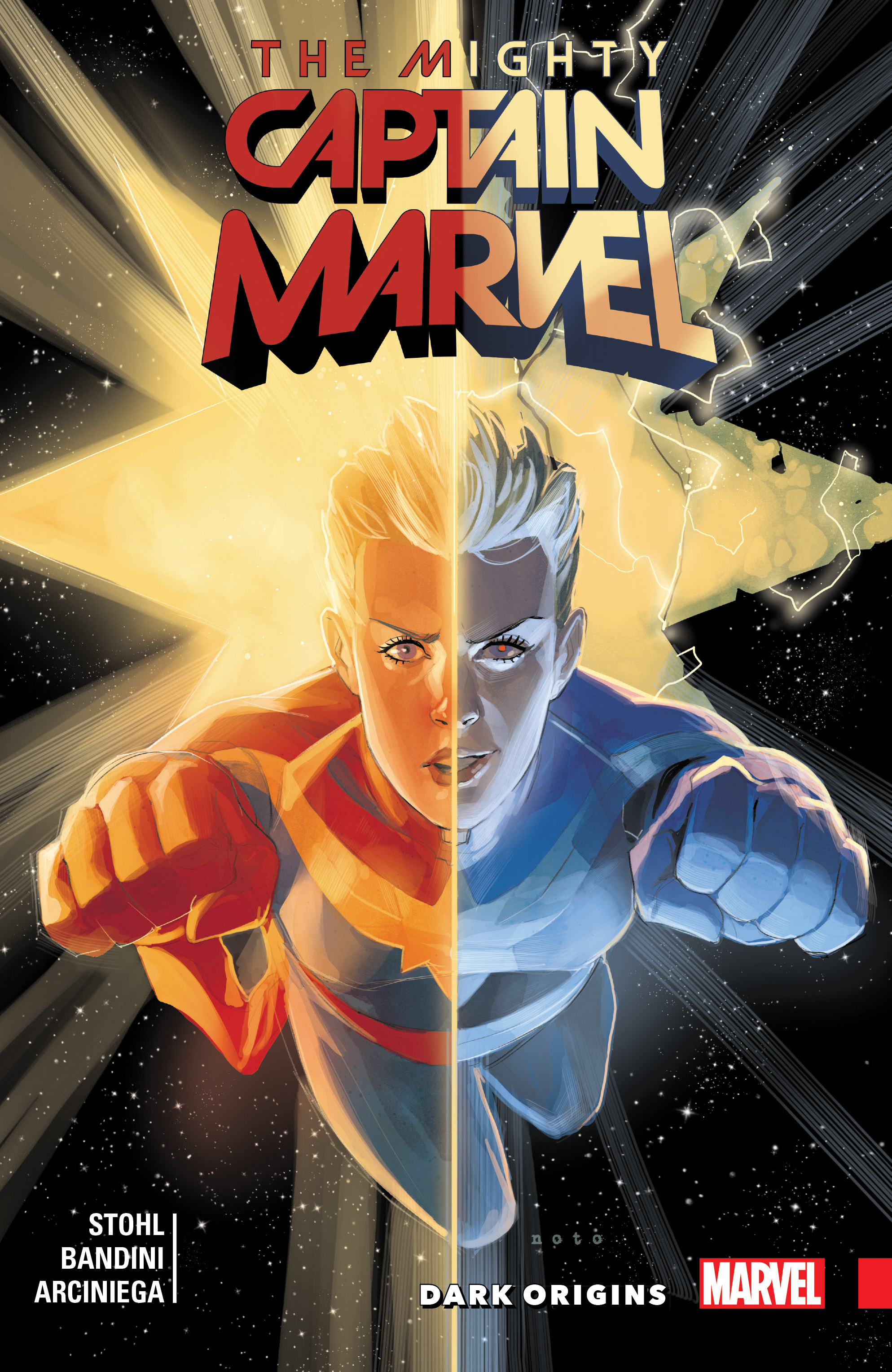 The Mighty Captain Marvel Vol. 3: Dark Origins (Trade Paperback)