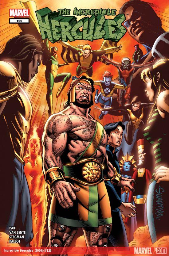 Incredible Hercules (2008) #129