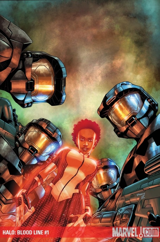 Halo: Blood Line (2009) #1