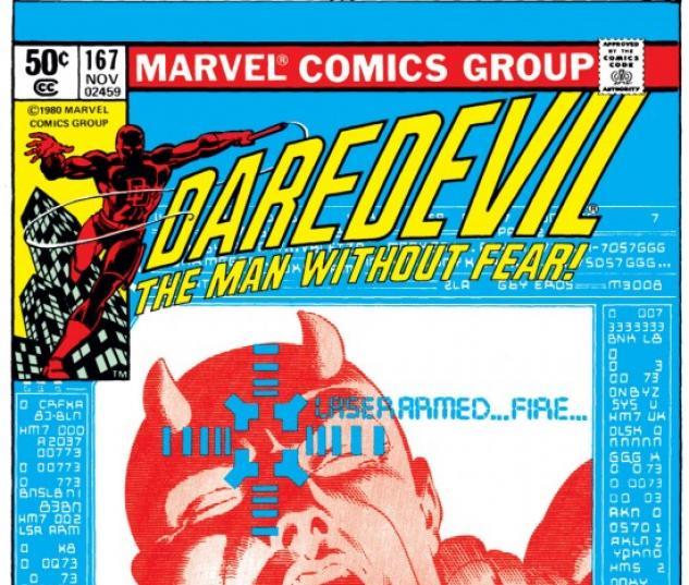 DAREDEVIL #167 COVER