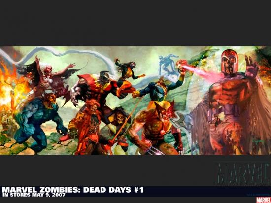 Marvel Zombies: Dead Days (2007) #1 Wallpaper