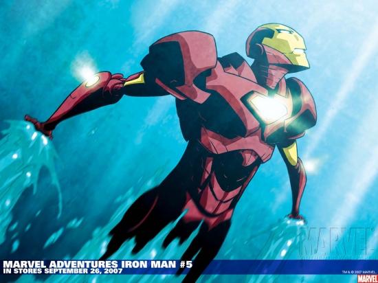 Marvel Adventures Iron Man (2007) #5 Wallpaper