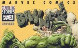 STARTLING STORIES: BANNER #3 cover by Richard Corben