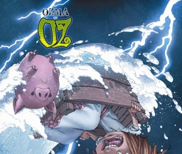 Ozma of Oz (2010) #1 (ALPHONA VARIANT)