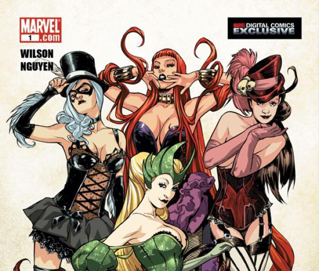 WOMEN OF MARVEL DIGITAL (2010) #6