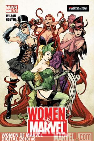 WOMEN OF MARVEL: MEDUSA DIGITAL COMIC #6